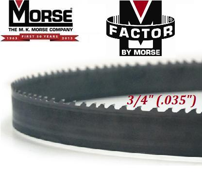 "M-Factor by Morse FB (Foundry Band) 3/4"" (.035"")  m-factor, m, factor, mk, morse, fb, foundry band, foundry, band, saw, bandsaw, blade, blades, carbide, tip, tipped"