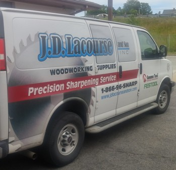J.D. Lacourse & Son, Inc. : Woodworking Supplies & Precision Sharpening Service