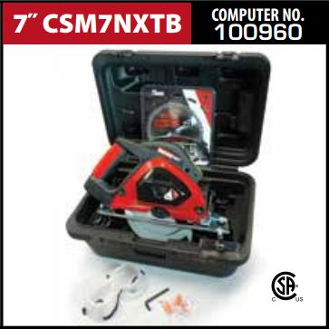 "Metal Devil NXT 7"" Machine Kit CSM7NXTB"