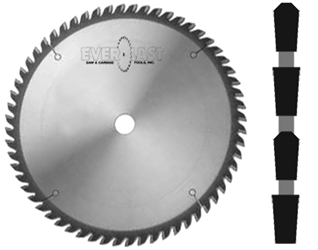 "10"" x 60T x 5/8"" TCG Standard Purpose Carbide Saw"