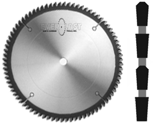 "10"" x 80T x 5/8"" TCG Non-Ferrous Carbide Saw"
