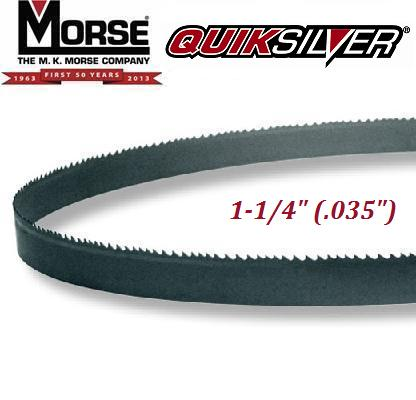 "QuikSilver (HB) Hard Back Carbon Blade 1-1/4"" (.035"")"