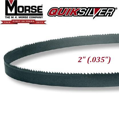"QuikSilver Wood Mill Hard Back Carbon Blade 2"" (.035"")"