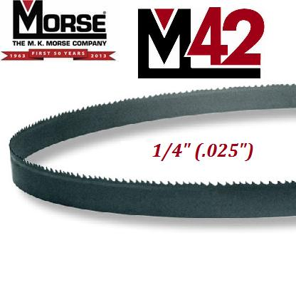 "M42 Production Bi-Metal Blade 1/4"" (.025"")"