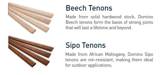 Tenon 6 mm (DF 500 only)